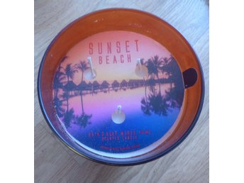 Bath & Body Works 3veks ljus doftljus SUNSET BEACH