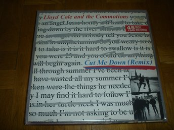 """12"" - Lloyd Cole and the commotions-Cut me down-REMIX"
