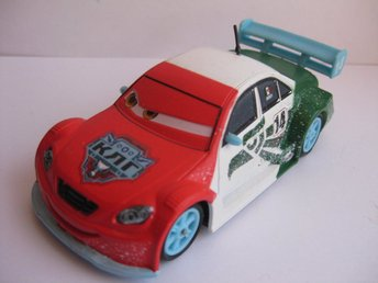 Disney Pixar Cars Bilar Mcqueen metall Royas Jr Ice Racers Chaser 1:43 NY