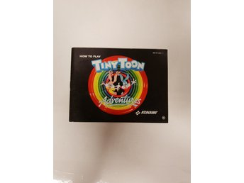 Tiny Toon Adventures - Manual NES NINTENDO - USA