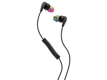 SKULLCANDY Hörlur Method Svart/Swirl In-Ear Mic