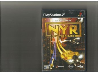 New York Race - NYR  - PS2 spel