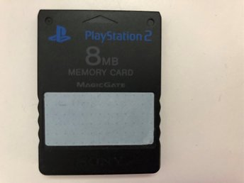 Minneskort 8 MB till PS2