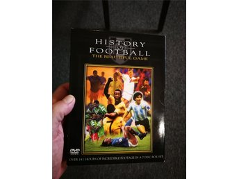 History of football MEGABOX 7-DISC, 14,5 TIMMAR (Utgången)