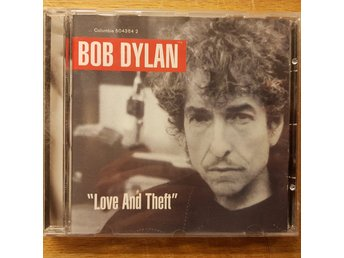"BOB DYLAN – ""Love And Theft"" CD 2001"