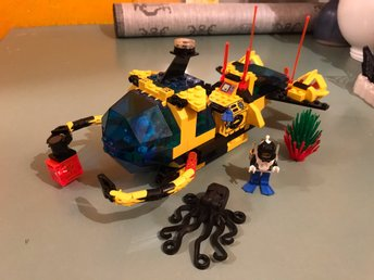 Lego 6175 Crystal Explorer Sub  Aquanauts city Town