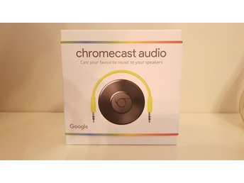 Chromecast Audio - Nytt
