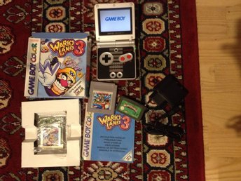 Game Boy Advance SP NES Edition+Warioland 1+3+4