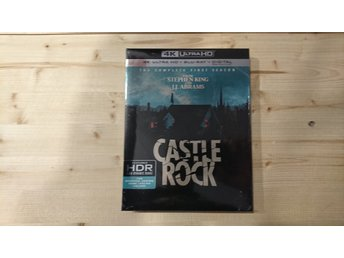 Castle Rock Säsong 1 4K UHD UltraHD Bluray Helt Ny slipcover Stephen King