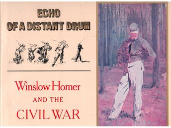 "Konstbok engelsk ""Winslow homer and the Civil War"" av Julian Grossman"