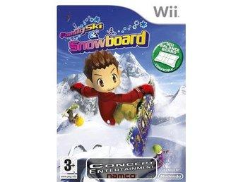FAMILY SKI & SNOWBOARD (komplett) till Nintendo Wii - Göteborg - FAMILY SKI & SNOWBOARD (komplett) till Nintendo Wii - Göteborg
