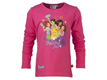 T-SHIRT FRIENDS, 601458 ROSA L/S-116