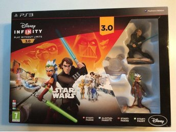 Infinity 3.0 Star Wars Disney. Startpaket PLAYSTATION 3 PS3