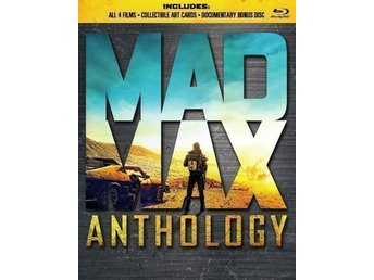 Mad Max - Anthology (Blu-ray) (5 disc). Ny, inplastad.