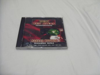 Command & Conquer Red Alert Counter Strike Missions Taiga PC CD ROM Engelsk