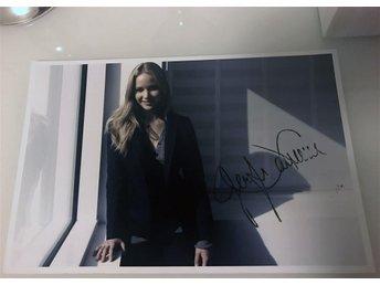 Jennifer Lawrence signerat foto (Hunger Games/X-Men/Silver Linings) - Dalby - Jennifer Lawrence signerat foto (Hunger Games/X-Men/Silver Linings) - Dalby