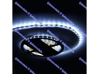 LED - List - 5 meter, 3528 SMD 12V - Vit