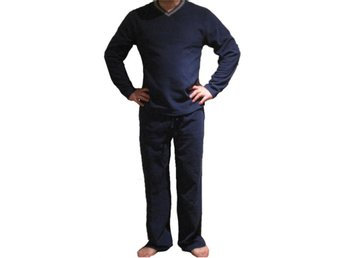 Julklapp! Super sköna Fleece pyjamas set Navy  XL