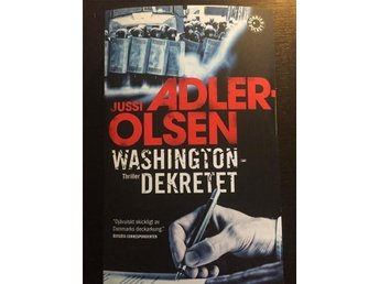 Washingtondekretet – Jussi Adler-Olsen. Förlagsny pocket!
