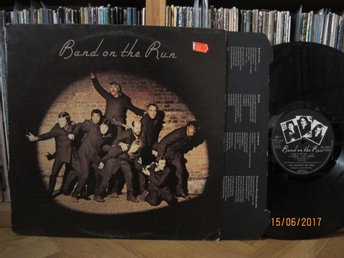 Paul McCartney & Wings - Band on the run, UK lp 1973