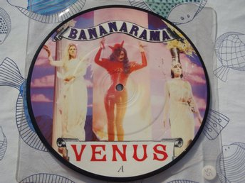 "BANANARAMA - VENUS 7"" PICTUREDISC 1986"
