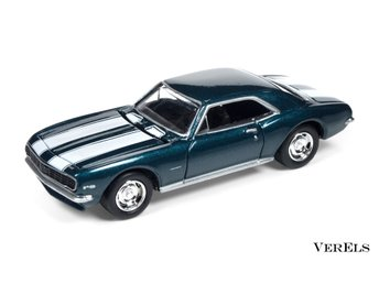 1:64, 1967 Chevrolet Camaro Z28, Johnny Lightning, ej Hot Wheels