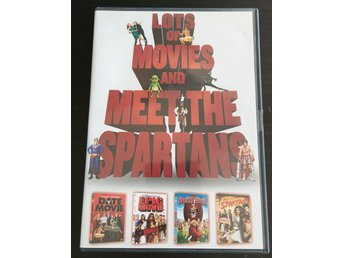 Lots of movies and Meet the Spartans - 4-DVD