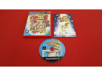 BUZZ THE MUSIC QUIZ till Sony Playstation 2 PS2