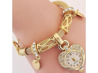 Ladies Gold Shine Bracelet Watch