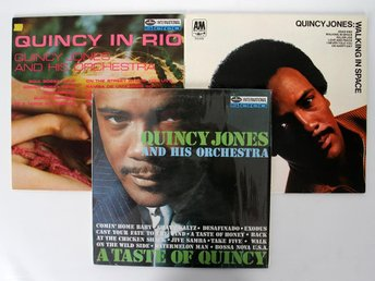 3 st. Vinylskivor - Quincy Jones - Mercury Records