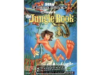 JUNGLE BOOK THE (kassett) till Sega Mega Drive