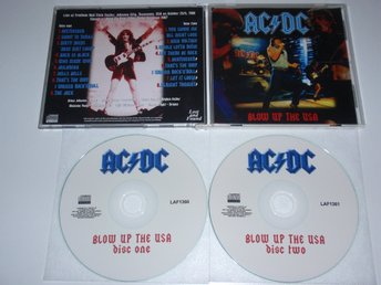 AC/DC - BLOW UP THE USA & DEMO SESSION 2CD/ LIVE USA 1988 ( SBD ) LIMITED RARE!