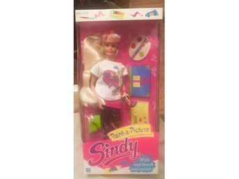 Sindy paint-a-picture ifrån Hasbro 1989 -OÖPPNAD OVANLIG