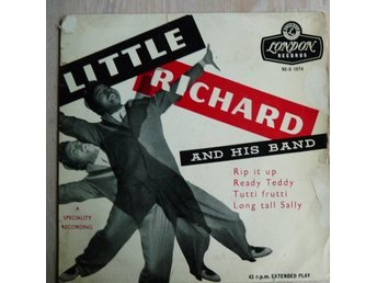Little Richard - Rip it up + 3 - REO 1074-skivomslag ( ingen skiva)