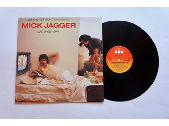 ** Mick Jagger ‎– Just Another Night (Extended Remix) **