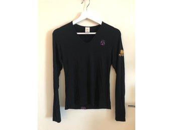 princip Artikel Framgång  Yoga tröja storlek Small / Medium svart bra skick (407513033) ᐈ ...