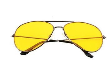 SKU00135)Men Outdoor Sports Polarized  Driving Eyewear Sunglasses -Gold