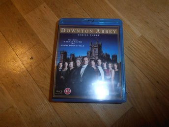 Downton Abbey - Säsong 3 (3-disc Blu Ray)