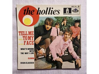 EP: Med THE HOLLIES, Tell Me To My Face / Clown
