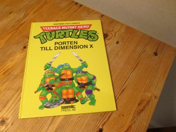 TURTLES PORTEN TILL DIMENSION X