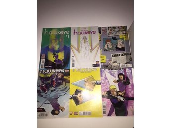 All New Hawkeye  1-6 Complete (2015) 99sek!!!
