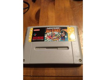 Super mario all stars snes spel