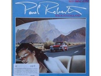 "Paul Roberts title*  Back To England* Pop, Rock 12"" Germany"