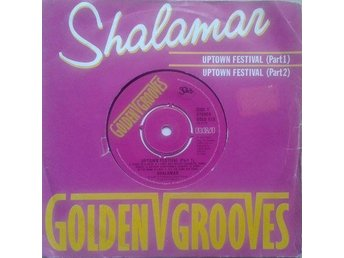 "Shalamar title*  Uptown Festival Part 1 & Part 2* Disco 7"" UK"