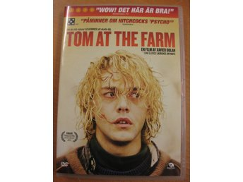 TOM AT THE FARM - AV XAVIER DOLAN - PRISBELÖNAT FRANSKT DRAMA - DVD