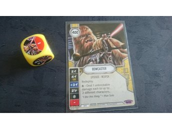 Star Wars destiny Bowcaster