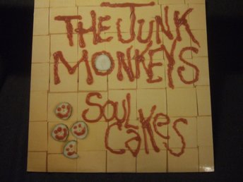 LP - THE JUNK MONKEYS. Soul Cakes. 1989
