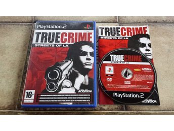 True Crime Streets of LA Playstation 2 PS2