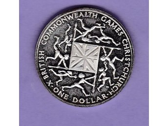 NYA ZEELAND  / NEW ZEALAND   dollar.  silver/proof