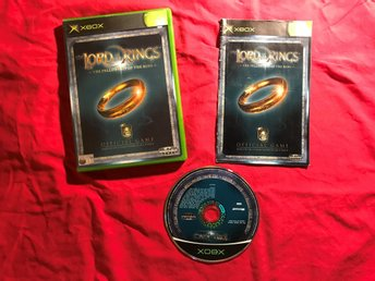 LORD OF THE RINGS THE FELLOWSHIP OF THE RING XBOX